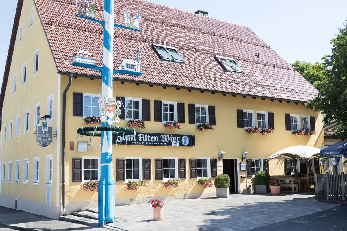 """Alten Wirt"""" in Mauern"""